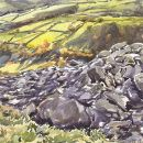 Pen Y Gaer, South Rampart