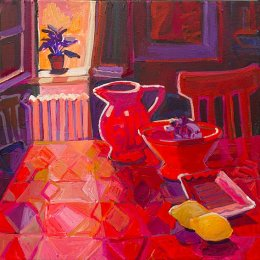 CHRISTINE WEBB Sansepolcro Table, 46x46 cm e