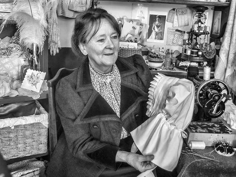 03 HC The Bonnet Maker by Anne Millett