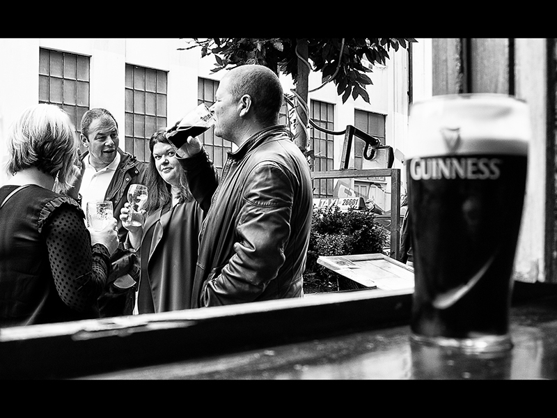 04 HC Street Drinkers, Dublin by Alan Bannister