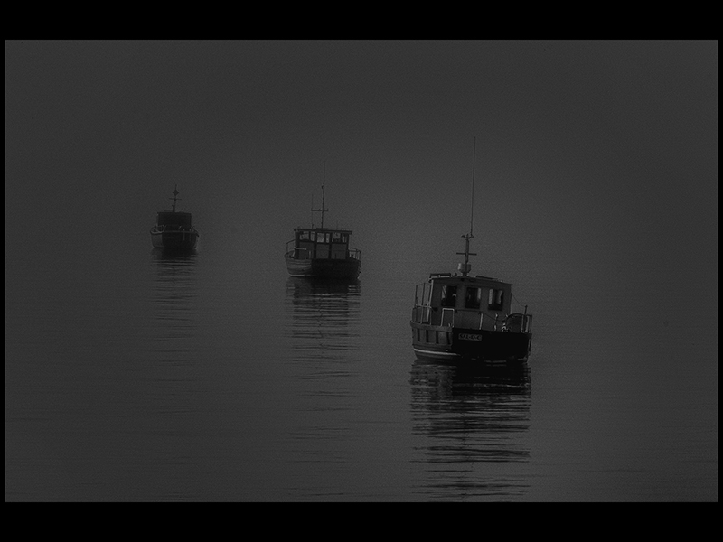 05 Com Misty Boats by Keith Brown