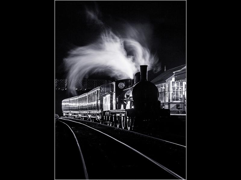 07 HC The Night Train by Robert Falconer