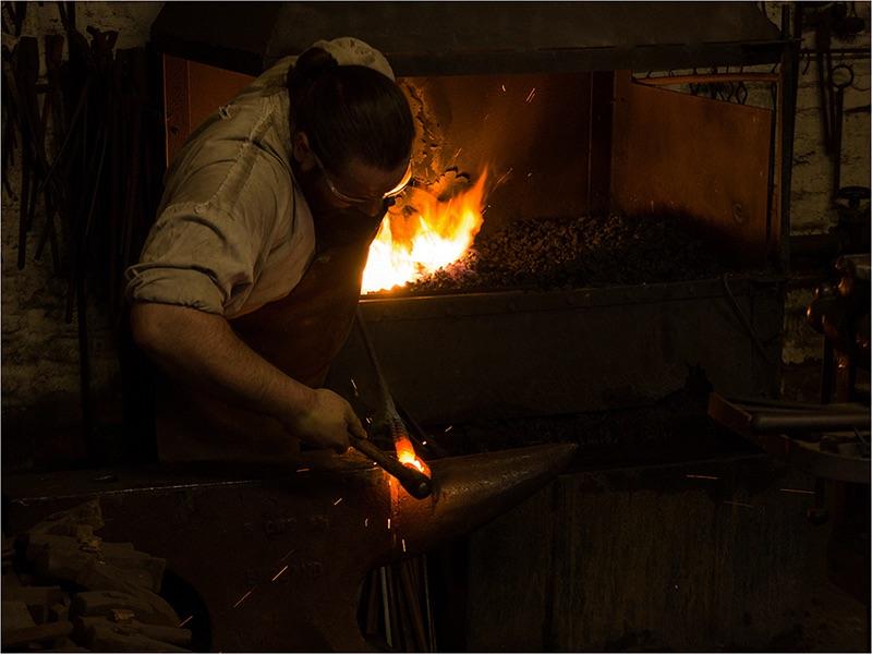 09 Com The Blacksmith by Graham Martin