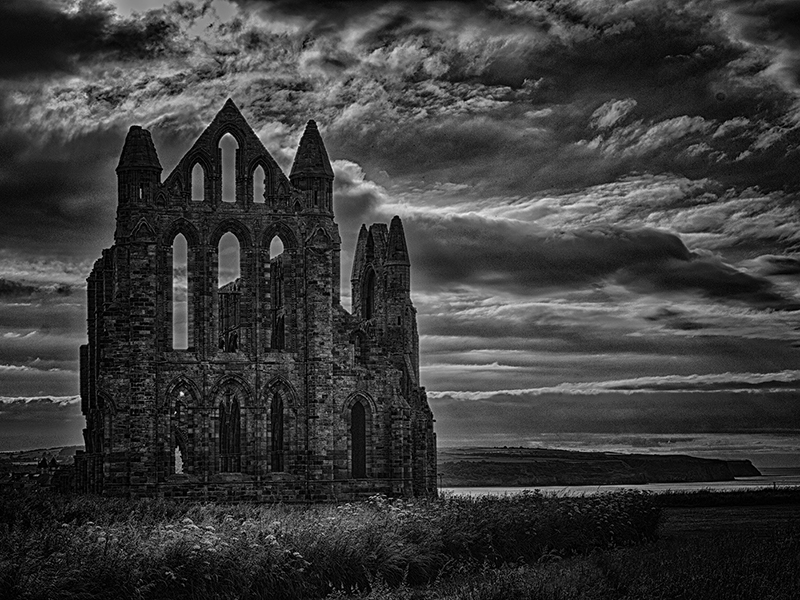 10 Com Whitby Abbey by Barry Smith