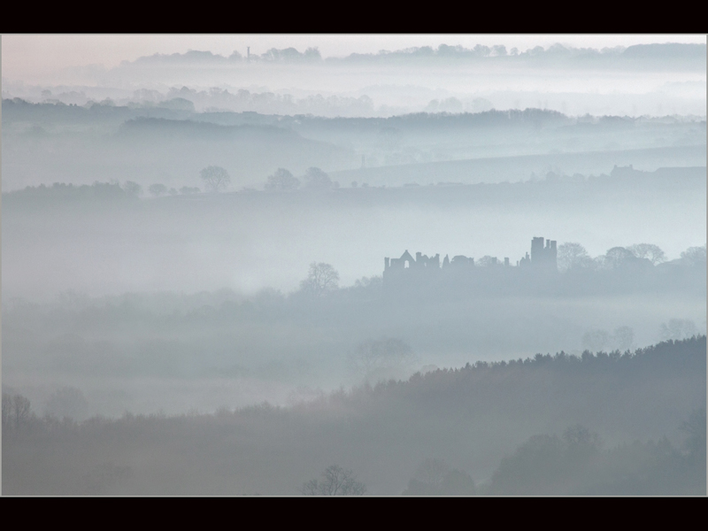 Com Manor in the Mist by Robert Falconer