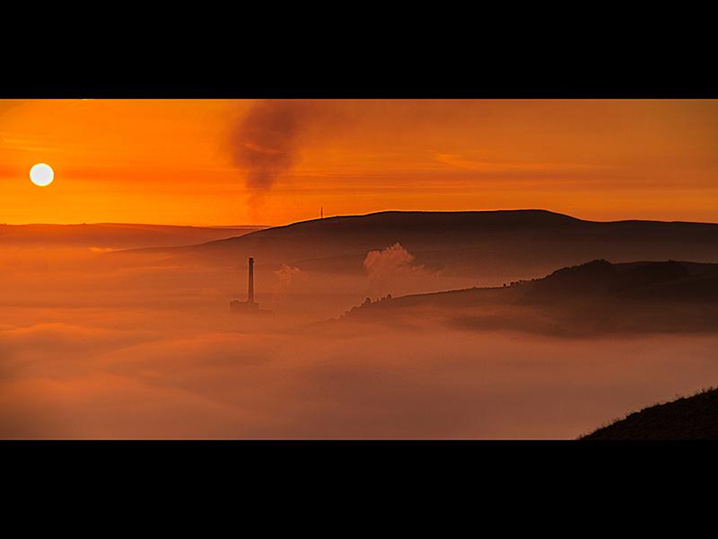 Com Sunrise over Hope by Geoff Jones