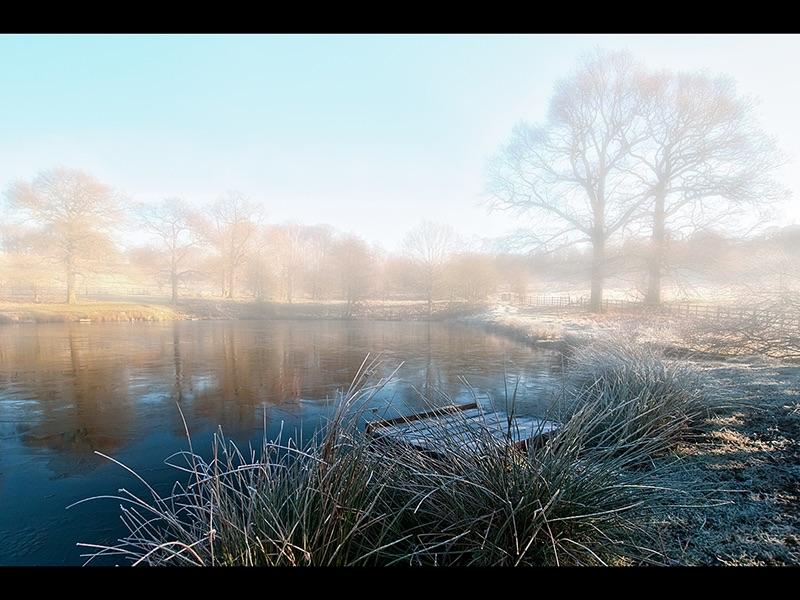 Early Morning Mist by Steve Mallender Top