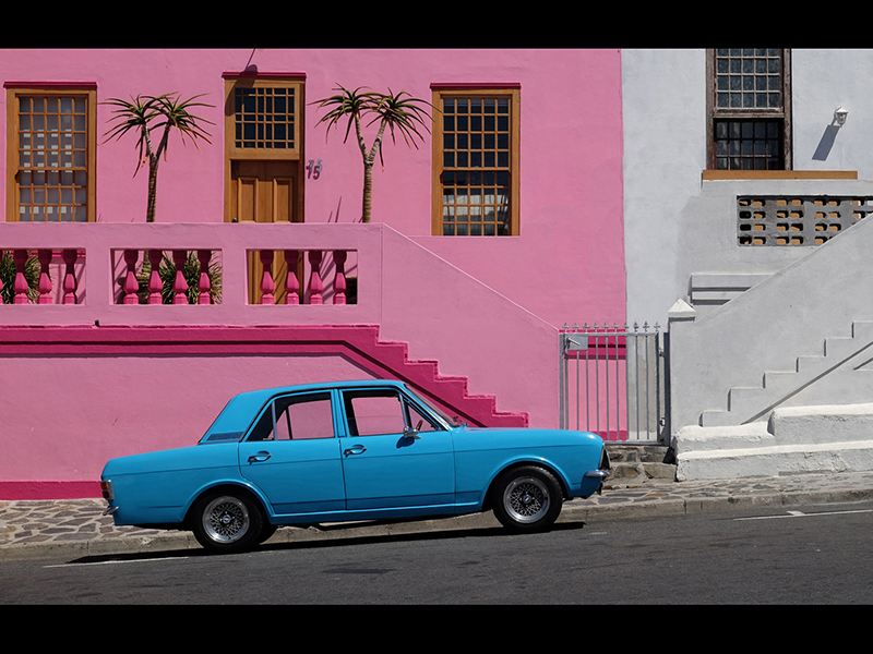 HC Blue Cortina by John Hopkinson