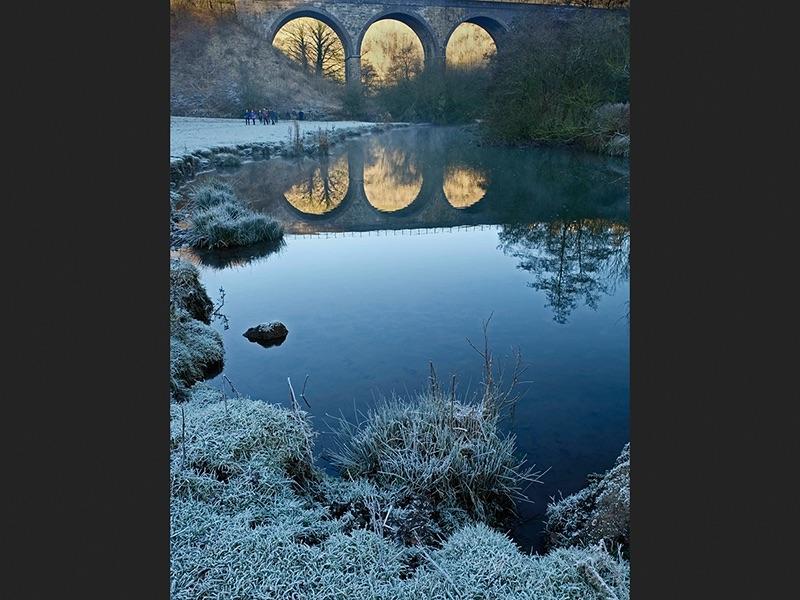 Monsal Dale Reflections by John Hopkinson Com