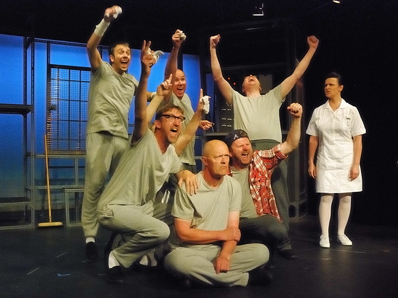 One Flew Over the Cookoos Nest Hasland Theatre Company 2012
