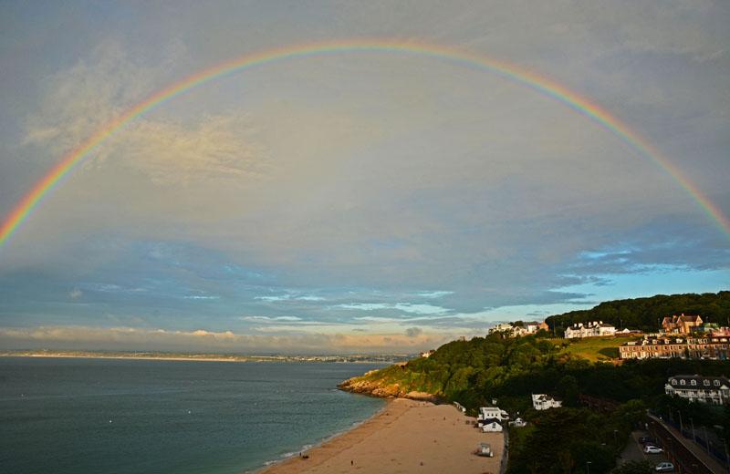 Rainbow Over Porthminster