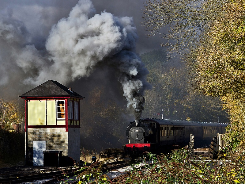 Steaming into Matlock by Shiela Rayson