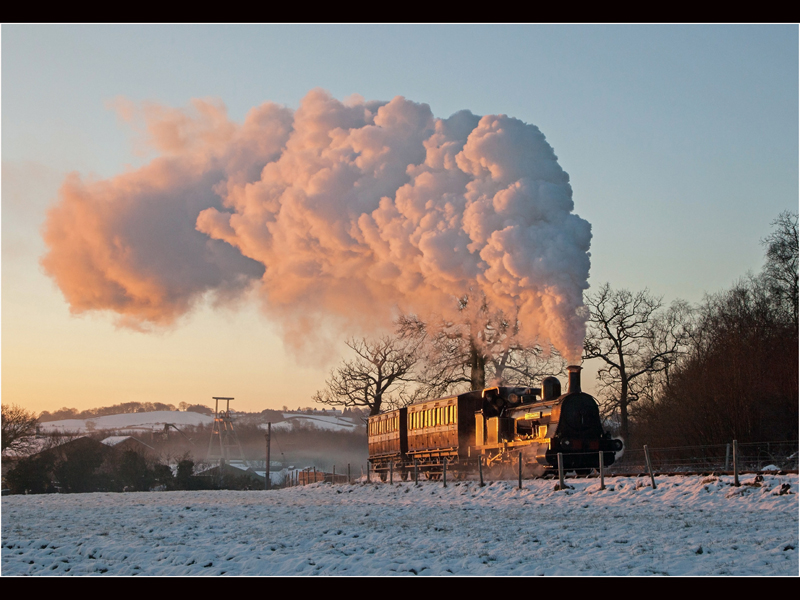 The Early Train by Robert Falconer Top Colour