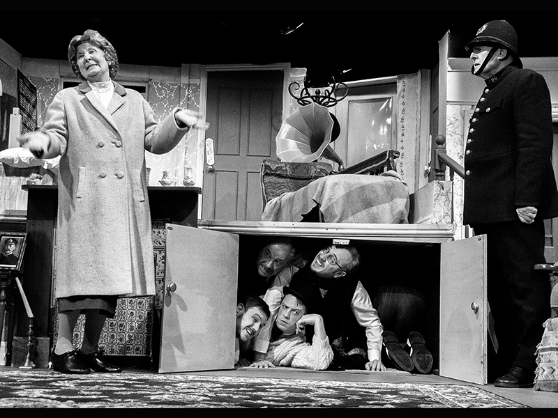 The Ladykillers 3 2014 Hasland Theatre Company