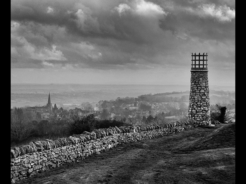 View from Crich Stand by Diane Spencer Com