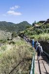 Hikers on Levada walk
