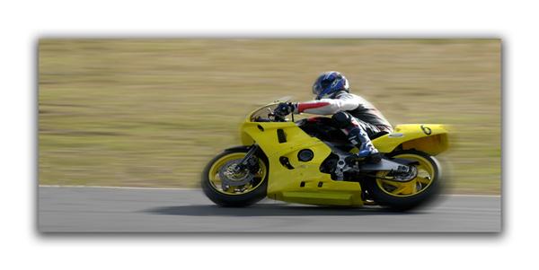 Triumph on the Queensland Raceway Circuit