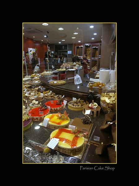 Parisian Cake Shop