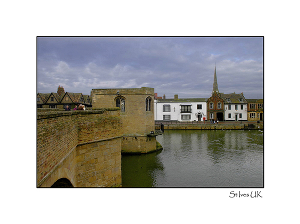 Medieval Bridge St Ives Cambridgeshire UK