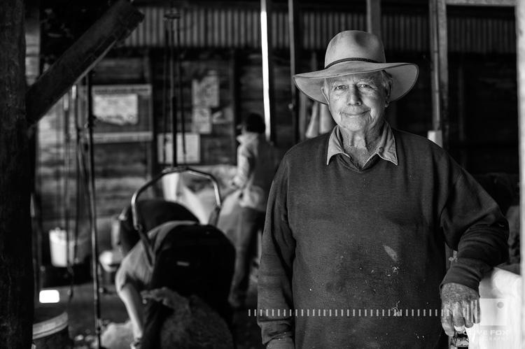 Peter Blundel Shearing at Malakoff