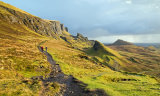 View from  Quiraing to the Sea