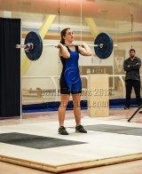 Maria Godfrey at Ontario Championships, December 2012