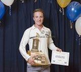 High school sports star wins soccer award.