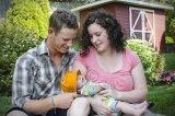 Newborn and proud parents!