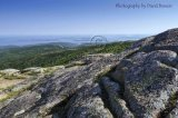 View from Cadillac Mountain, the peak of Acadia National Park, Maine. 2011.