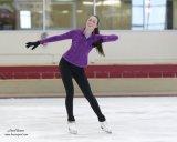 Elite figure skater in action!