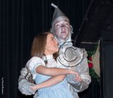 Dorothy and the Tin Man in Wizard of Oz