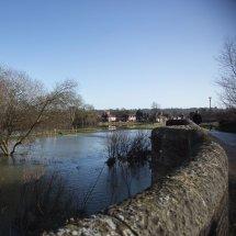 Cookham flood, Cookham Moor