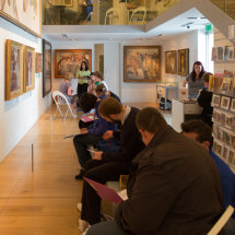 Stanley Spencer Gallery visitors