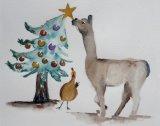 Christmas Alpaca