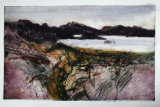 A Walk in the Hebrides IX Collograph 61x50