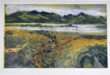 A Walk in the Hebrides VII Collograph 61x50