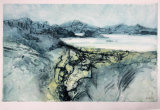 A Walk in the Hebrides X Collograph 61x50