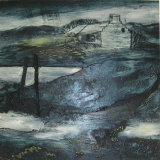 Sutherland Lochs III Oils 25x25