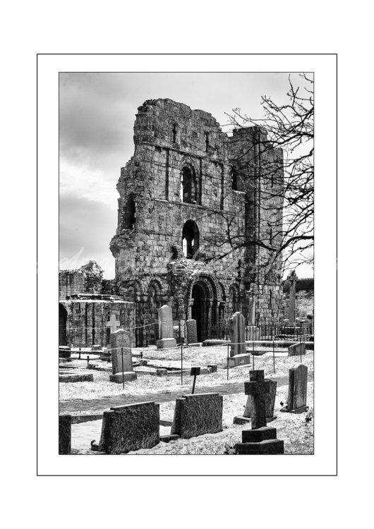 Lindisfarne Priory, Northumberland