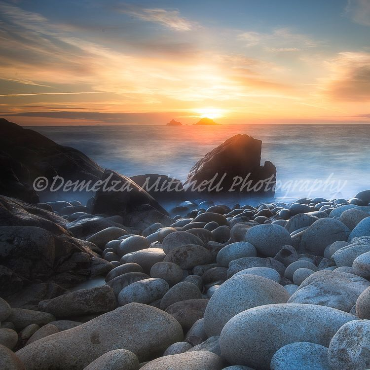 Sunset, Porth Nanven
