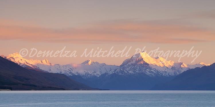 Aoraki/Mt Cook, Dawn