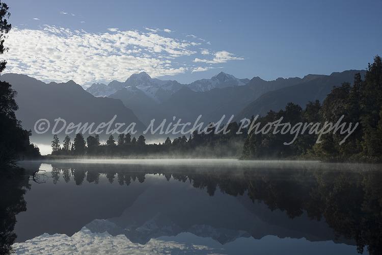 Dawn Reflections, Lake Matheson