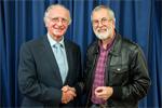 "Malc receives his ""Master of Audio Visual Arts Fellowship"""