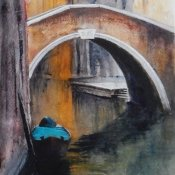 A Quiet Backwater in Venice