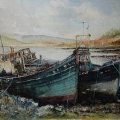 Old Boats on Mull