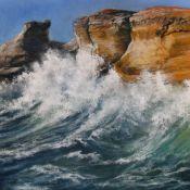 Sun and Sea on Rocks