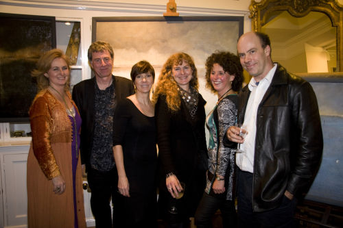 Art In The Yard/Private View/Nov 2011/the artists