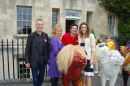 Media Launch with Amy Williams at Royal Crescent, Bath