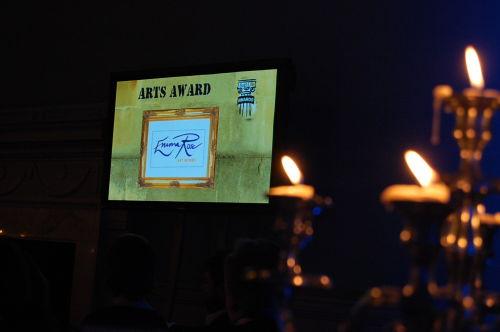 Bath Life Arts Award  Feb 2011