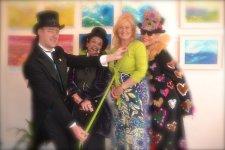 Interesting customers during the Fringe Arts Bath Festival 2015
